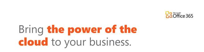 Bring the power of the cloud to your business